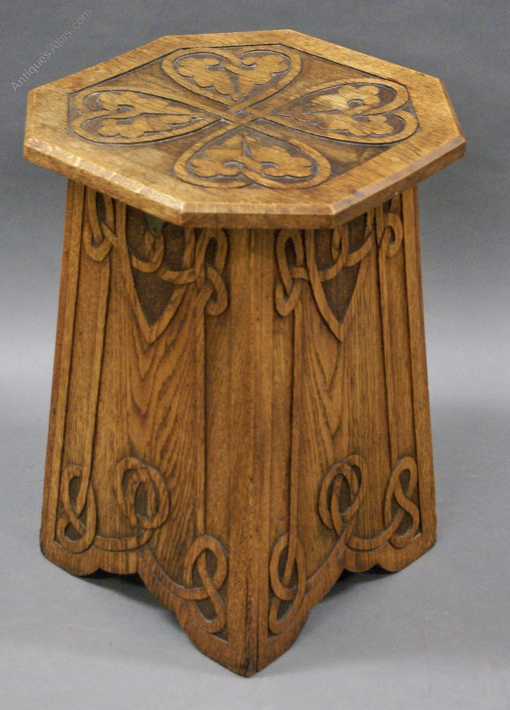 An Arts Amp Crafts Ash Stool Antiques Atlas