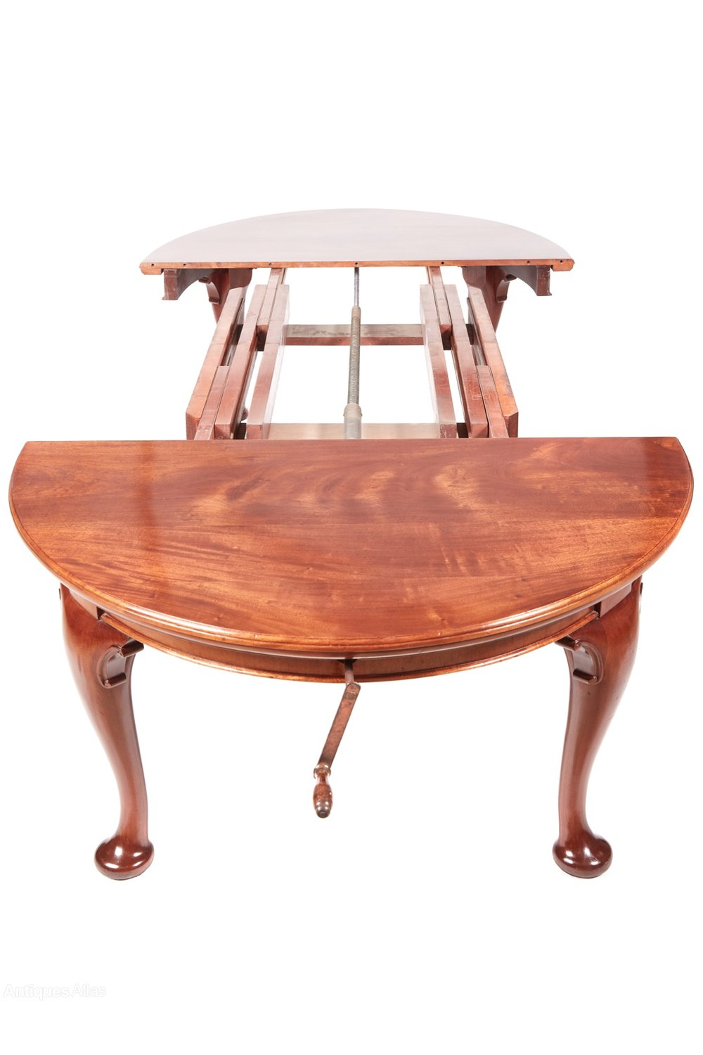 Quality antique mahogany extending dining table antiques for Good quality dining tables