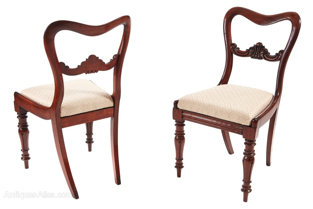 Fine quality set of six victorian dining chairs antiques for Set of 6 dining chairs