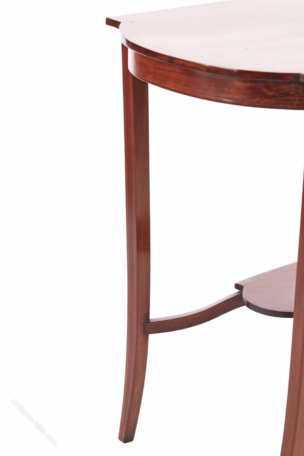 Inlaid mahogany freestanding occasional table for Occasional tables