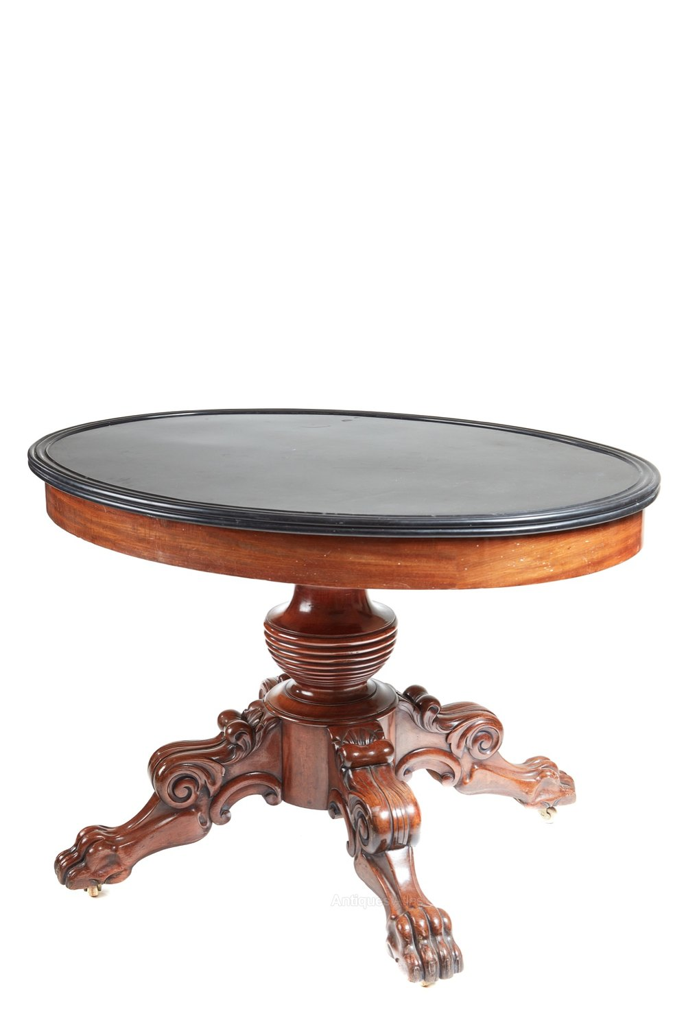 Amazing Oval marble top gueridon centre table