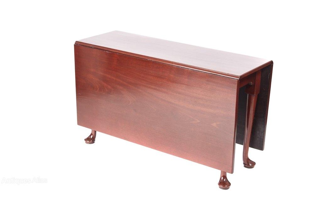 Quality antique georgian mahogany dining table antiques for Quality dining tables
