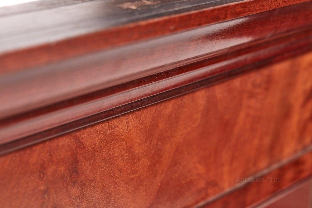 Quality antique mahogany wall mirror antiques atlas for Mirror quality