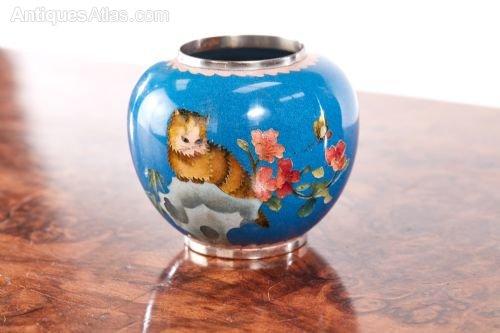 Antiques Atlas Quality Antique Miniature Japanese Cloisonne Vase