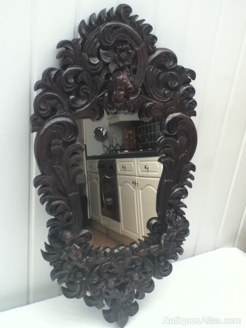 Antiques Atlas Solid Wood Victorian Ornate Mirror