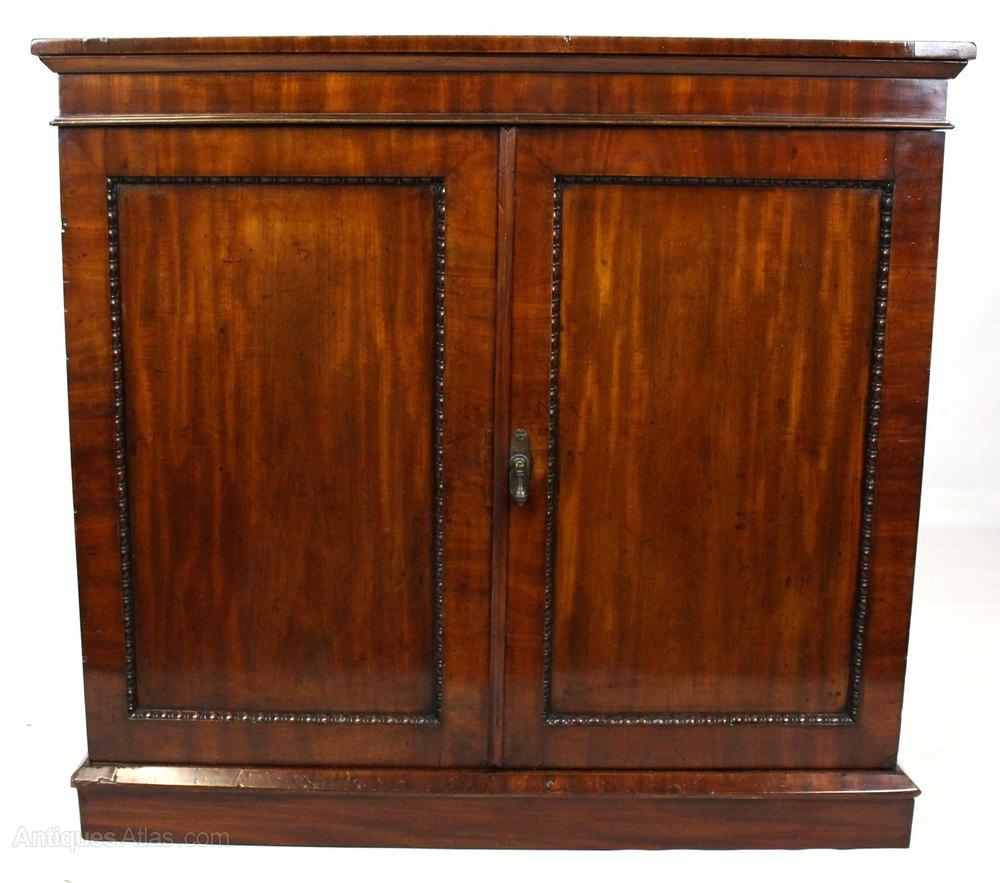Antique Mahogany Linen Press Cabinet ...