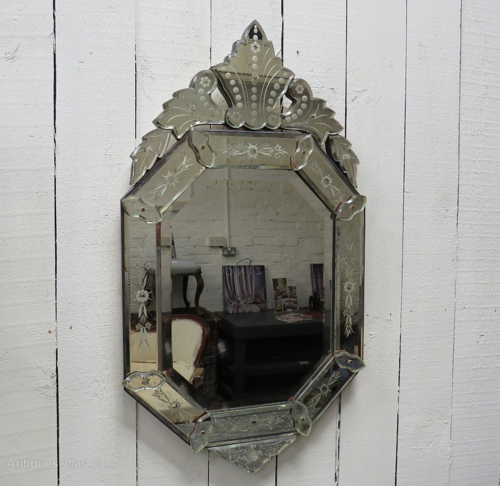 Antiques Atlas Antique Venetian Wall Mirror
