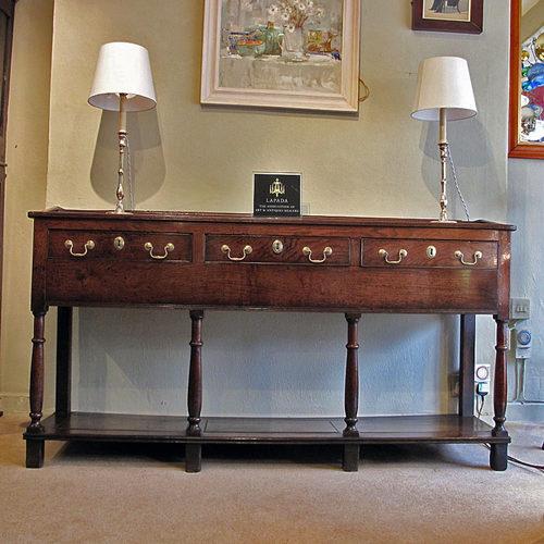 A Welsh Oak Dresser Base Antiques Atlas