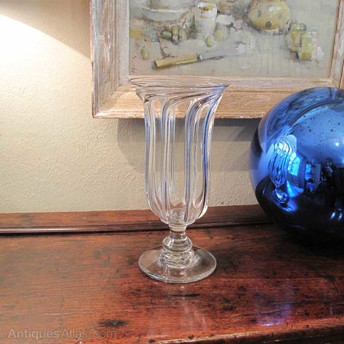 Antiques Atlas An Unusual Glass Celery Vase