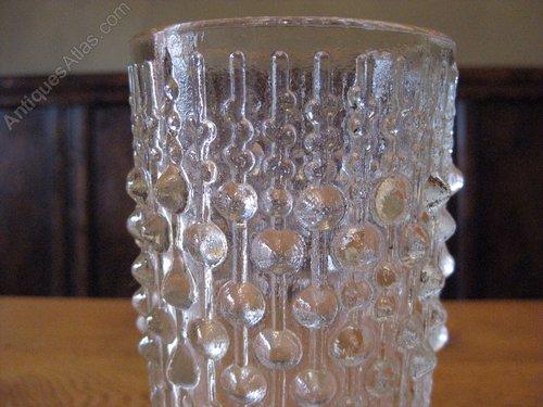 Antiques Atlas Vintage Sklo Union Pressed Glass Vase