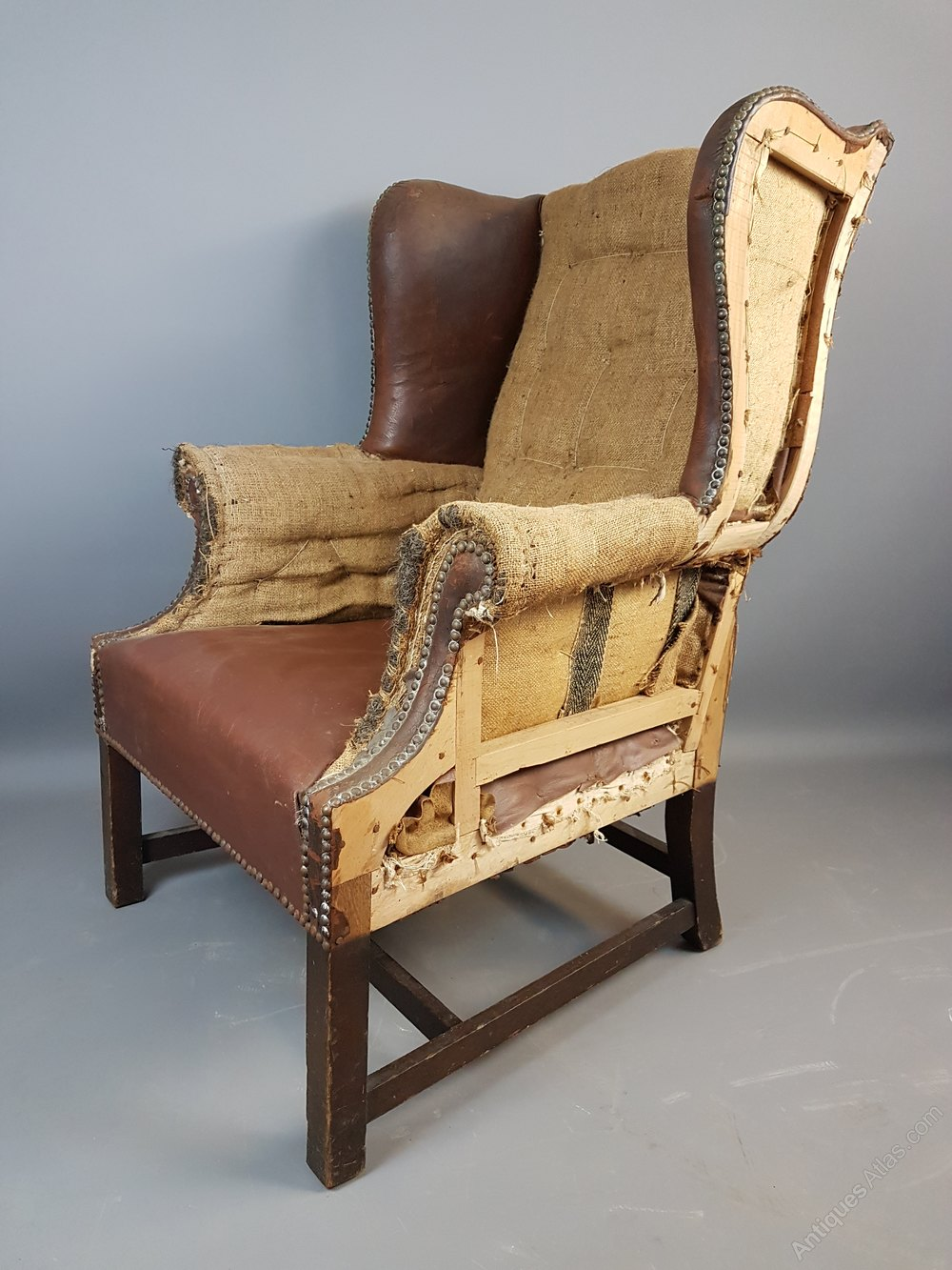 Exceptionnel Antique Armchair For Upholstery ...