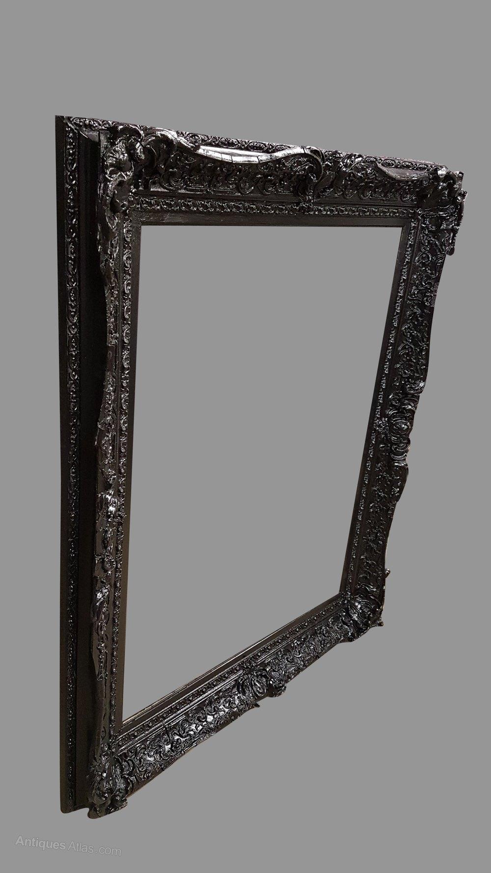 Antiques Atlas - Large Victorian Frame In Black