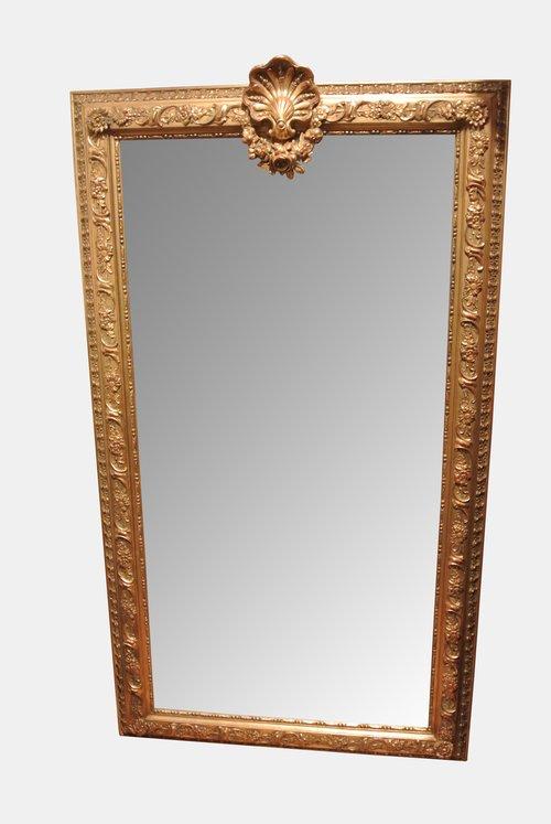Continental Gilt Pier Mirror