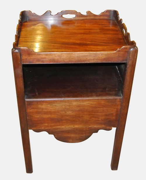Georgian Bedside Commode Cabinet