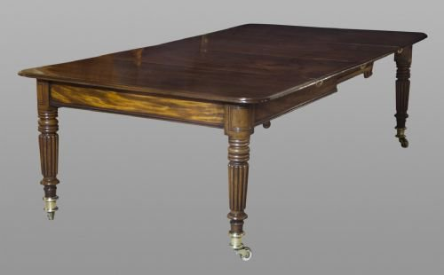 A Superior Quality Regency Dining Table