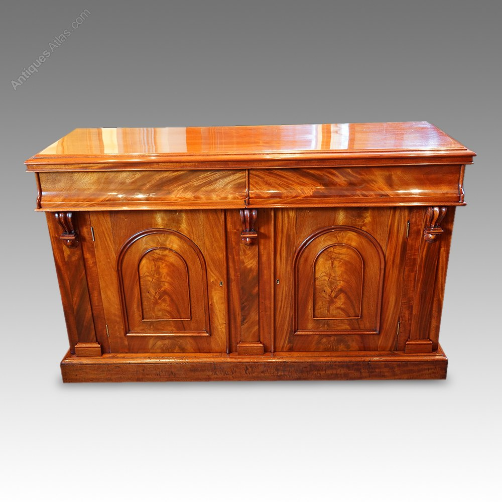 victorian mahogany chiffonier sideboard antiques atlas. Black Bedroom Furniture Sets. Home Design Ideas