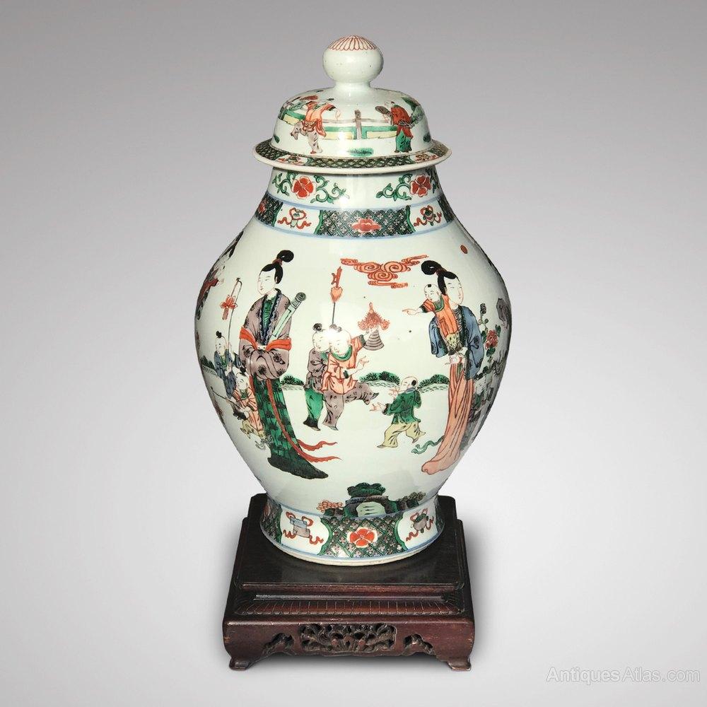 Antiques atlas antique chinese baluster vase on pierced stand antique chinese baluster vase on pierced stand qing dynasty chinese ceramics 1644 1912 reviewsmspy