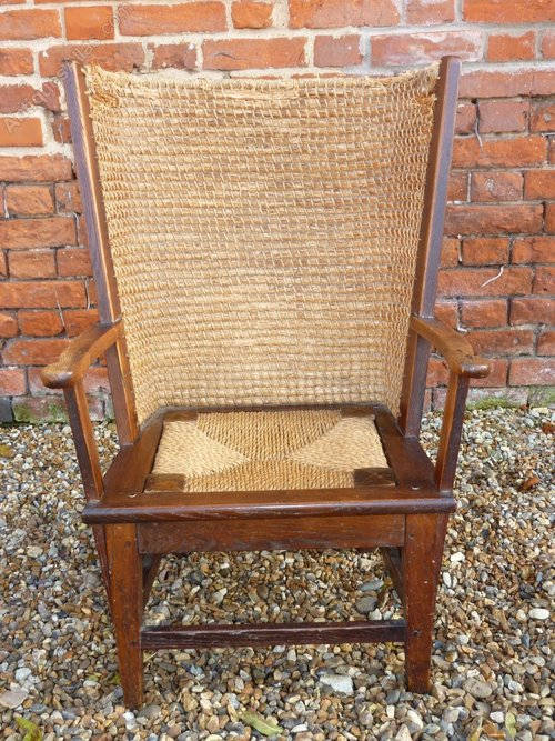 ... Antique Orkney Chairs ... - Antique Orkney Chair Circa 1890-1900 - Antiques Atlas