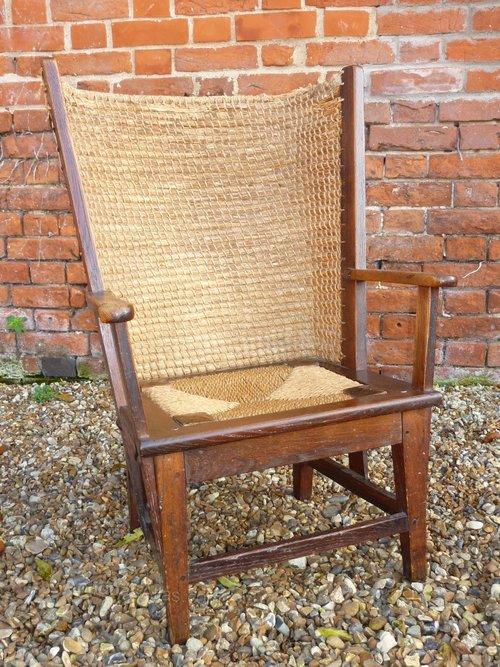 Antique Orkney Chair Circa 1890-1900 - Antique Orkney Chair Circa 1890-1900 - Antiques Atlas