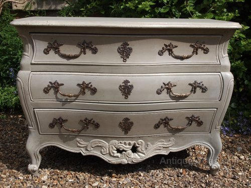 Antiques Atlas Louis Xv Style Painted Commode Chest Of Drawers