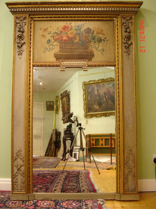 Antiques Atlas 19th C French Trumeau Mirror