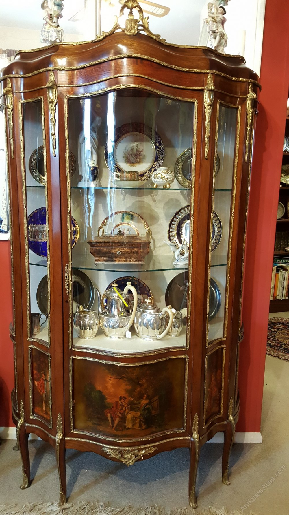 19th century French Vernis Martin Cabinet Antique Display Cabinets ... - 19th Century French Vernis Martin Cabinet - Antiques Atlas