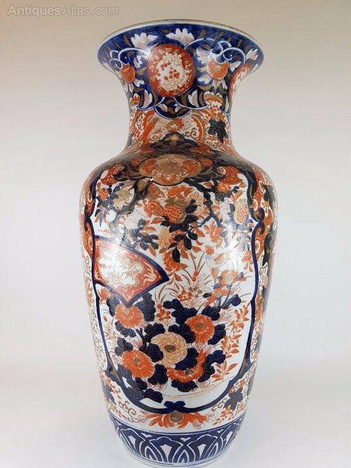 Antiques Atlas Large 19th Century Japanese Imari Vase