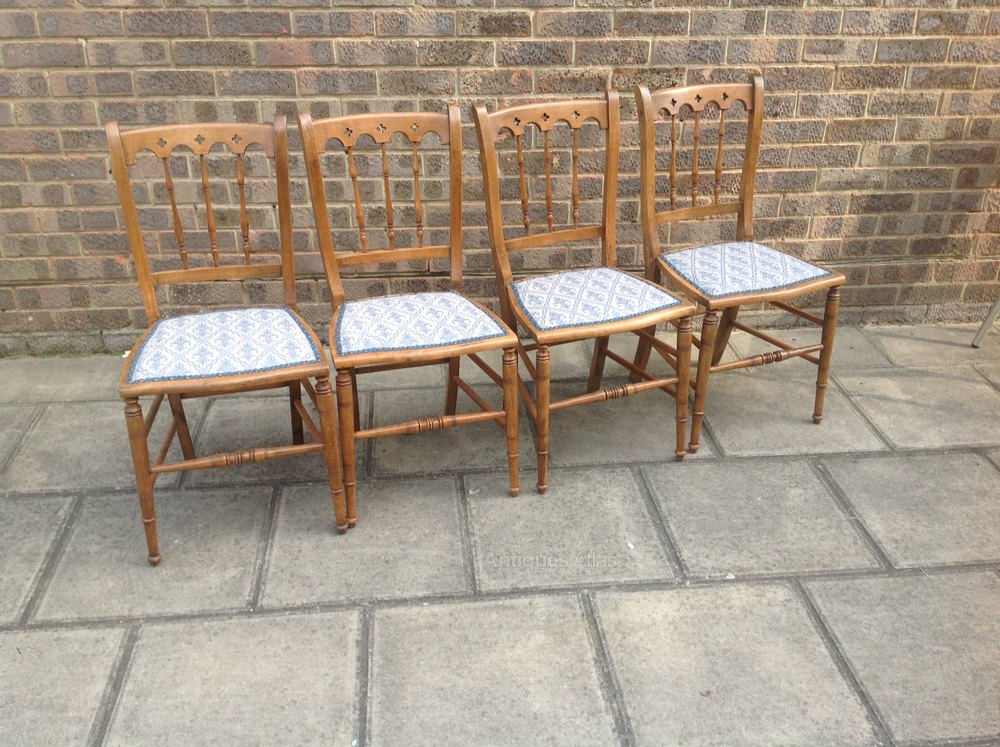 Beach Dining Chairs ~ Edwardian beach dining chairs antiques atlas
