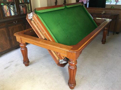 Antiques Atlas Vintage Slate Roll Over Snooker Dining Table