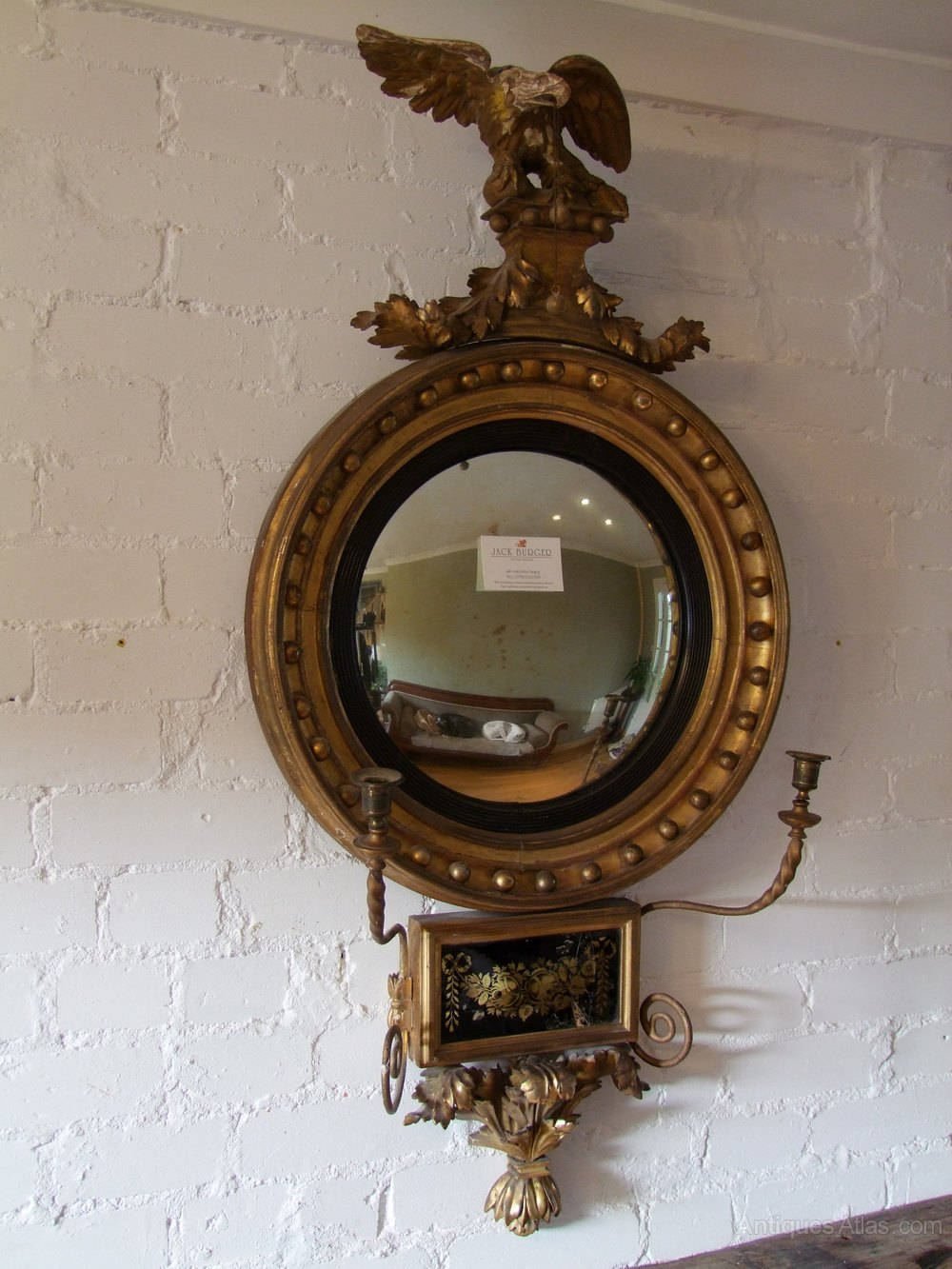 Antiques Atlas Regency Convex Mirror