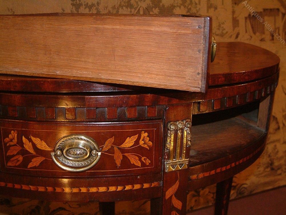 c5c3bf730bea 18th C Dutch Marquetry inlaid card table Antique Card Tables Dutch mahogany card  table