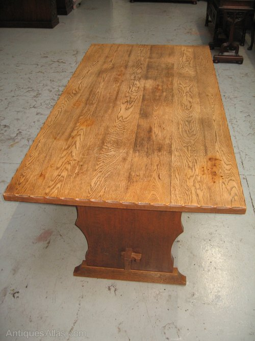 Varnish For Kitchen Table Top Best Antiques Atlas Oak Kitchen Dining Table 3000 9