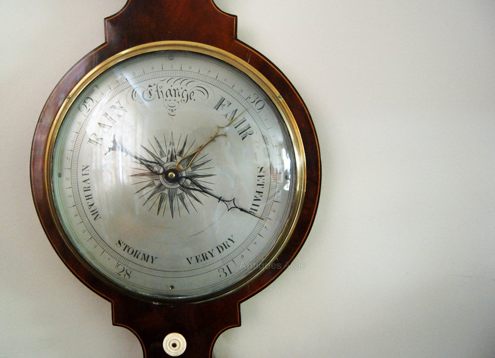 Antiques Atlas William Iv Wheel Barometer By Cetti Amp Co