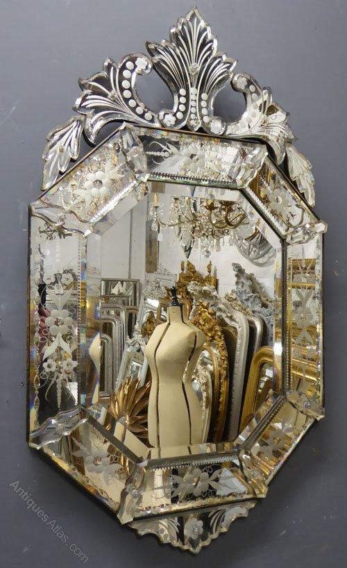 Antiques Atlas 19th Century Antique Venetian Mirror