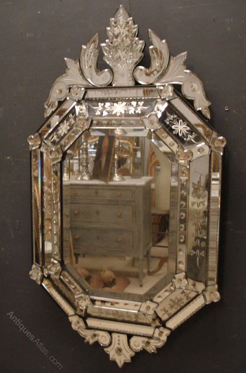 Antiques Atlas 19th Century Venetian Mirror