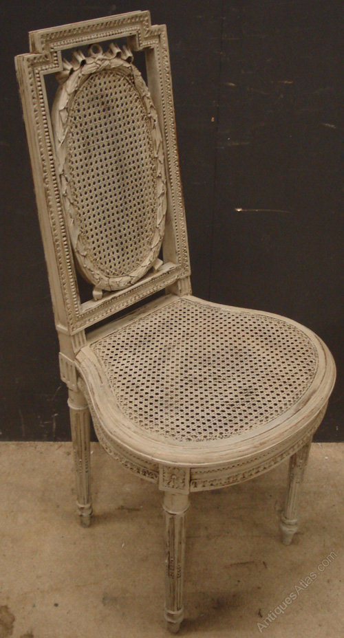 Antique French Cane Side Chairs Antiques Atlas