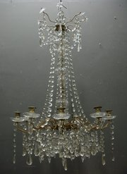 New  Interiors Antique French Chandelier