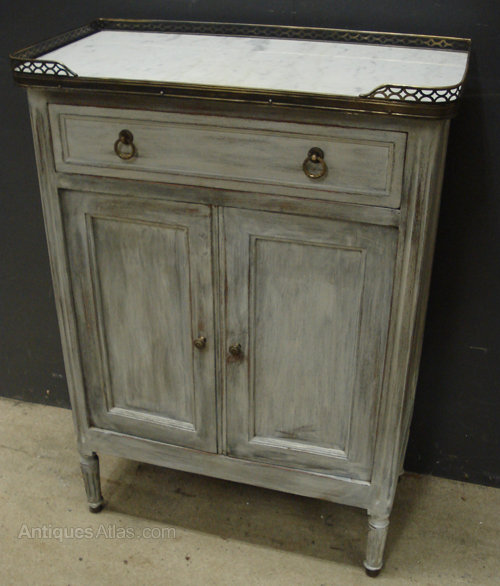 Antique French Painted Cabinet ... - Antique French Painted Cabinet - Antiques Atlas