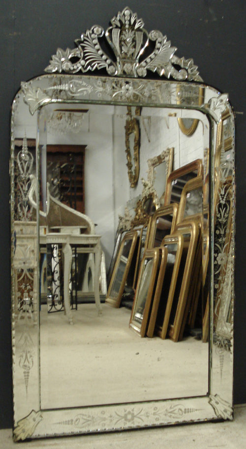 Antiques Atlas - Antique Venetian Mirror