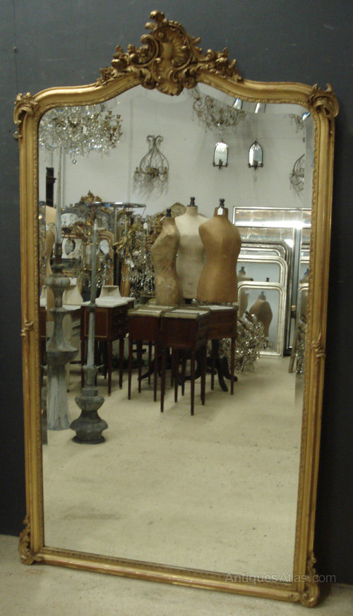 Antiques Atlas Large Antique French Mirror
