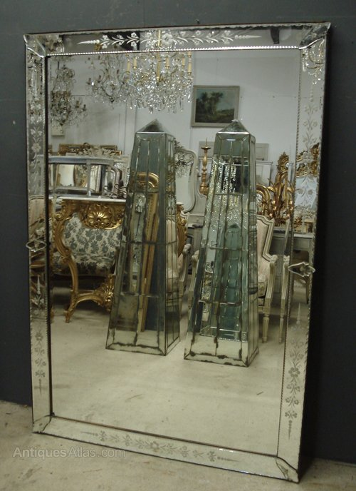 Antiques Atlas Large Venetian Mirror