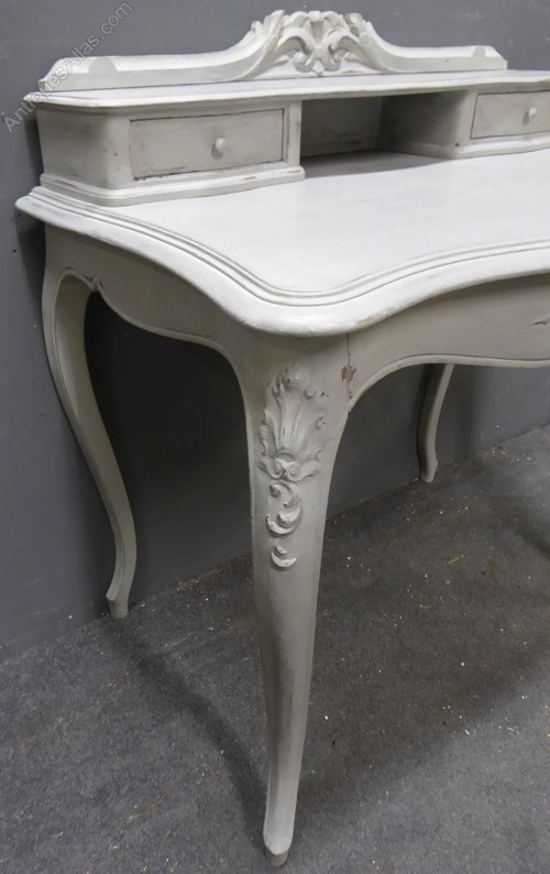 Painted Antique French Desk Writing Desks