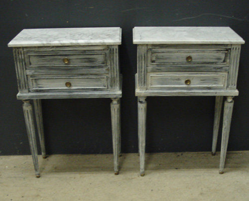 Antiques atlas pair of french bedside cabinets pair of french bedside cabinets watchthetrailerfo