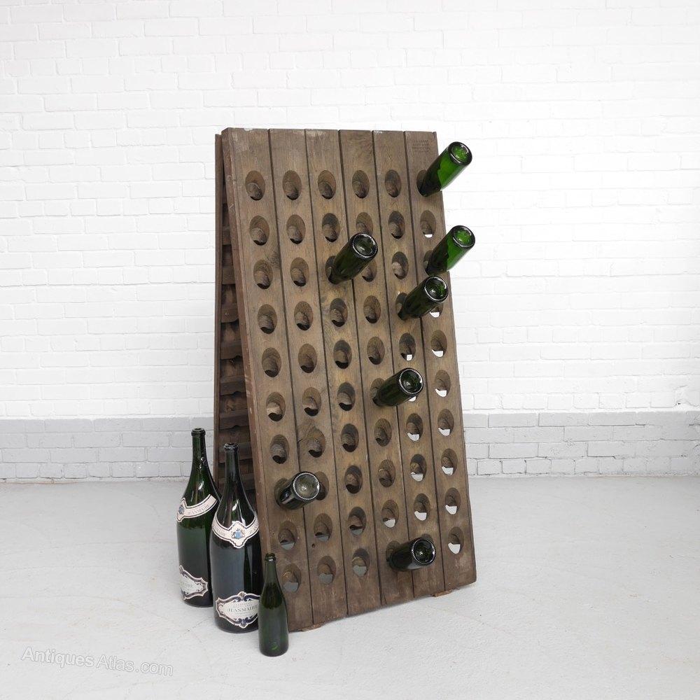 Vintage Oak Champagne Riddling Rack