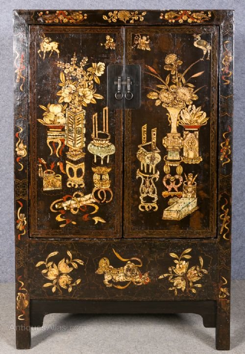 Antique Chinese Cupboard Tail, Antique Chinese Furniture Uk