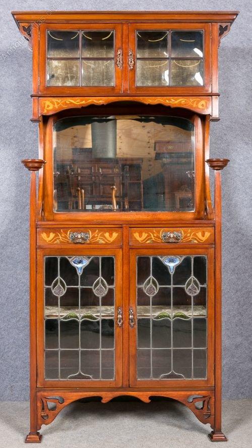 Art Nouveau Display Cabinet Antiques Atlas