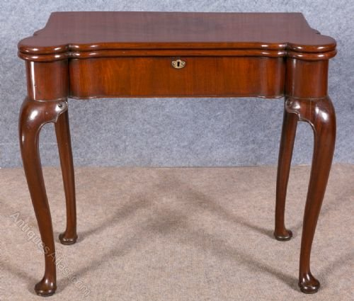 George Ii Mahogany Card Table Antiques Atlas