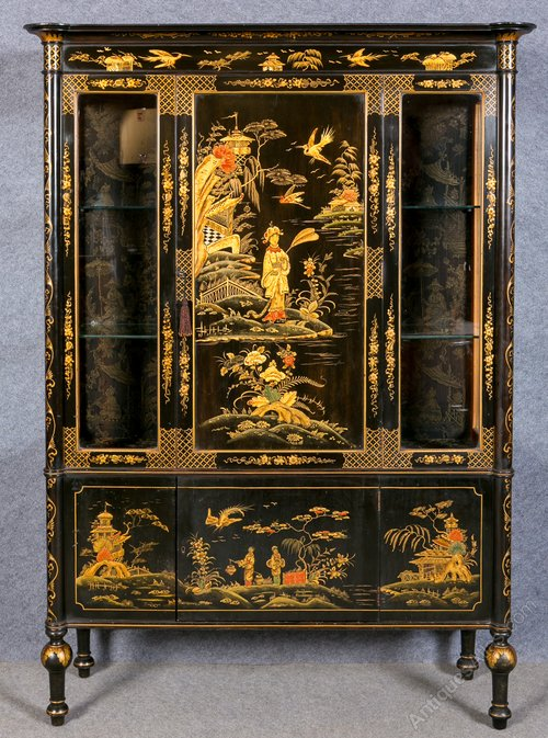 Large Chinoiserie Cabinet Antiques Atlas