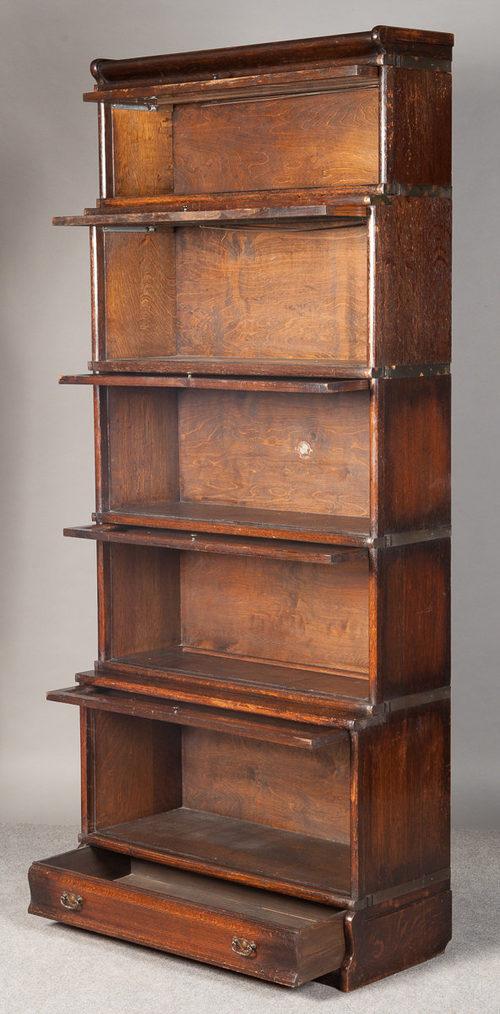 Oak Globe Wernicke Bookcase Antique Bookcases Stacking