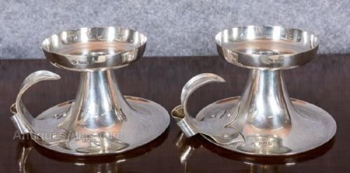 Periods & Styles Copper Pair Of Arts & Crafts Copper Serving Trays; Hand Wrought & Hand Hammered